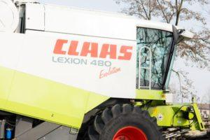 Claas Lexion 480 Evolution