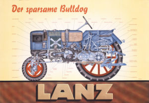 tractor lanz